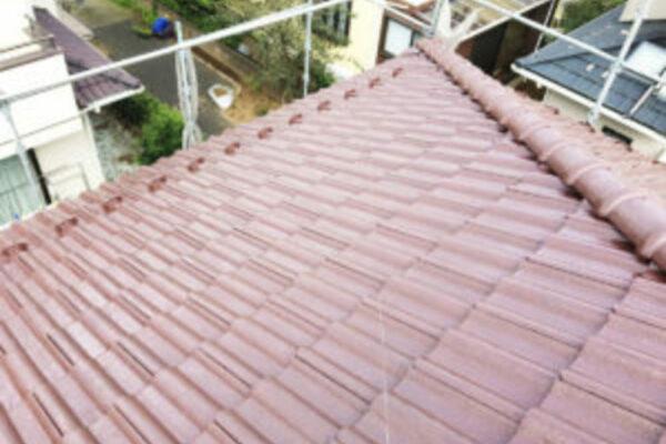 山梨県大月市 屋根塗装 K様