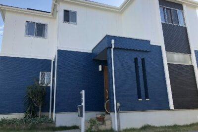 山梨県富士吉田市 外壁塗装、付帯部塗装 ナノコンポジットW