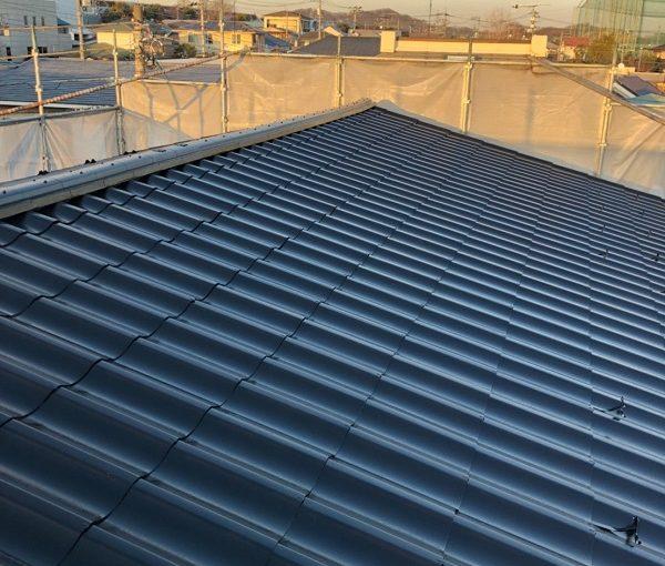 山梨県富士吉田市 屋根塗装 防水工事 スレート瓦 ウレタン防水