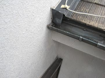 山梨県富士吉田市にて外壁塗装用の補修作業!