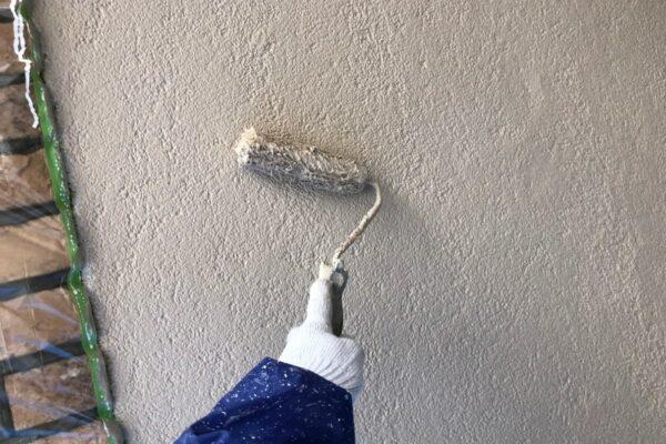 山梨県富士吉田市にて外壁塗装工事!
