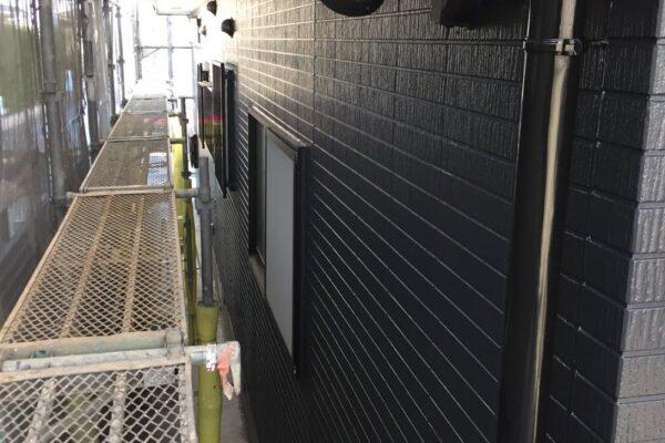 山梨県笛吹市にて外壁塗装工事!