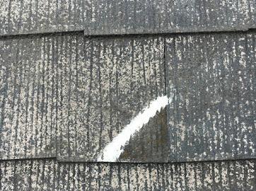 山梨県中巨摩郡にて屋根塗装用の屋根補修作業!