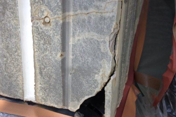 山梨県山梨市 外壁材ひび割れ 補修工事
