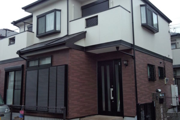 山梨県甲府市 屋根塗装 トリプル 自社工事保証 メーカー保証