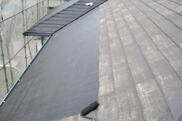 山梨県南アルプス市 屋根塗装 下地処理 下地調整 耐久性