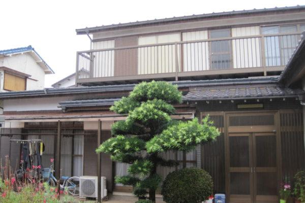 山梨県韮崎市 外壁塗装 工事後 トリプル保証