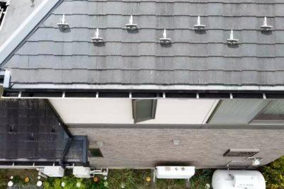 屋根ドローン調査の画像